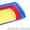 Пластмассовые столовые подносы разных размеров и цветов. #147767
