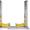 S 45-2. Подъемник двухстоечный,  электро гидравлический г/п 4, 5 т. #375131