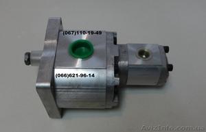 Шестеренчатый насос сдвоенный  для погрузчика UNC 060, UNC 061. - Изображение #1, Объявление #1529445