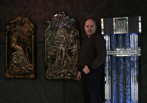 Барельєф в інтер'єрі від дизайн студії Романа Москаленка - Изображение #1, Объявление #1680439