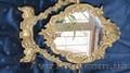 Велликолепное бронзовое зеркало!!! Германия!!!старинное