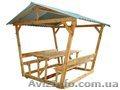 Альтанки з дерева для дому та дачі