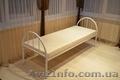 Кровати металлические, двухъярусные кровати, односпальная кровать, кровать  - Изображение #7, Объявление #1444632
