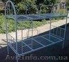 Кровати металлические, двухъярусные кровати, односпальная кровать, кровать  - Изображение #4, Объявление #1444632