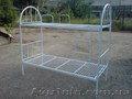 Кровати металлические, двухъярусные кровати, односпальная кровать, кровать  - Изображение #3, Объявление #1444632