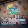 Продается детская игровая стенка «Паровозик»